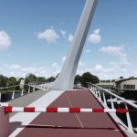 Fietsbrug Oude Rijn (Katwijk)